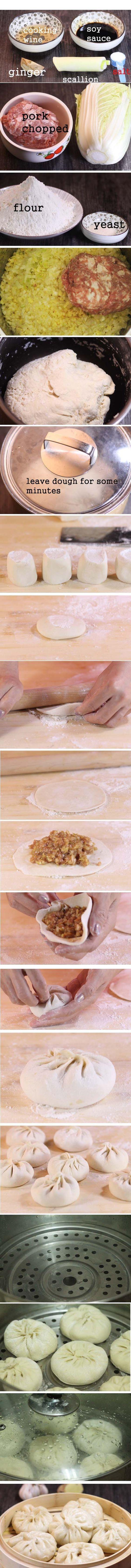 How to make perfect Chinese Baozi?