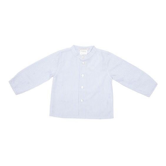 Baby Shirt in White and Blue