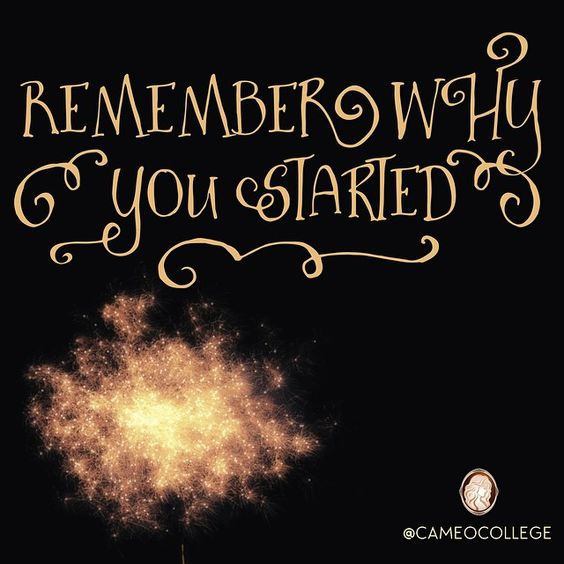 Remember why you started #beautyschool #cosmetology #esthetics