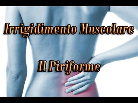Il Piriforme: Irrigidimento Muscolare