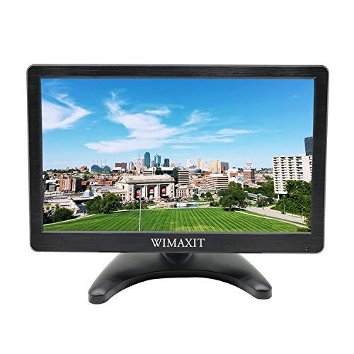Wimaxit 12 Inch Portable Monitor Hd 1920x1080 Ips Lcd Hdmi Monitor Screen Input Audio Video Display With Hdmi Cable For Pc Computer Camera Dvd Security Cctv Dvr In 2020 Computer Camera Monitor Hdmi