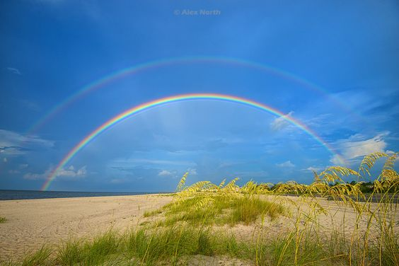 Double Rainbow shot by Alex North http://www.naturallynorth.net ...