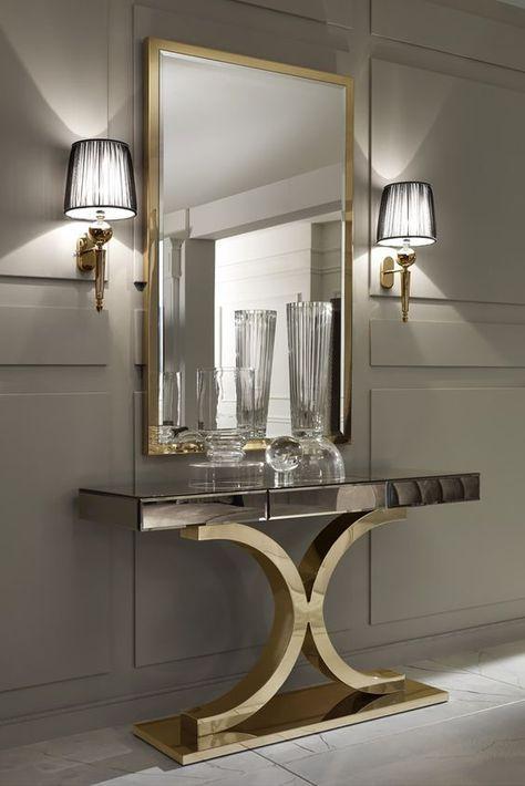 Il nostro arredamento soggiorno moderno permette di soddisfare contemporaneamente due importanti esigenze: Top 10 Wall Mirror Designs For Your Living Room Arredamento Ingresso Moderno Arredamento Interni Ingresso Arredamento Ingresso Casa