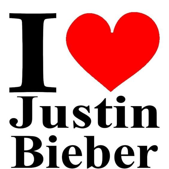 i love you justin bieber justin bieber pinterest