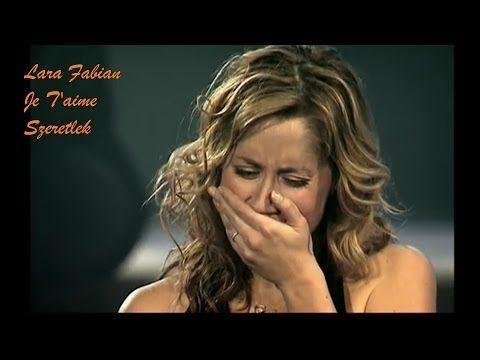 O futuro só depende de você! : Lara Fabian - Je T'aime - Live Concert - magyar…