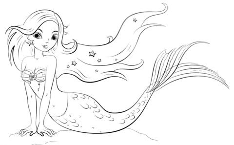 Mermaid Coloring Pages Page Free Printable Adultcoloringpages Coloringpagesforkids Coloringpagesforgilrs Freecoloringpages Printablecoloringpages Di 2020