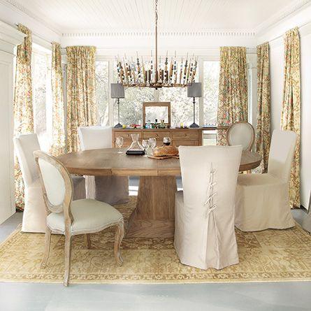 Arhaus Leighton Small Weathered Dining Table Condo