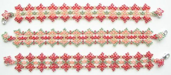 Beaded Jewelry by Linda Richmond: Downloadable Bead Patterns from tested bead kits