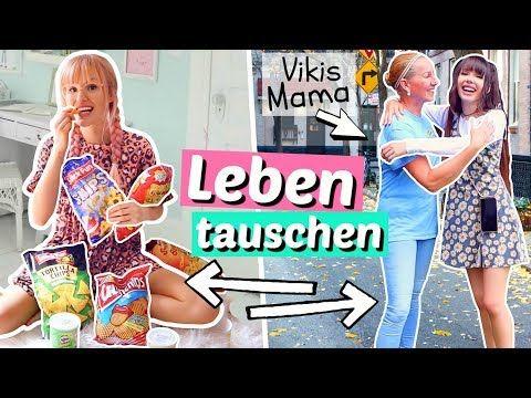 Das Leben Tauschen Mit Bff 24 Stunden Viktoriasarina Youtube Victoria Und Sarina Leben Tauschen