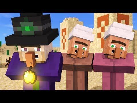 Villager Witch Life 4 Alien Being Minecraft Animation Youtube Splatoon Memes Minecraft Pocket Edition Animation