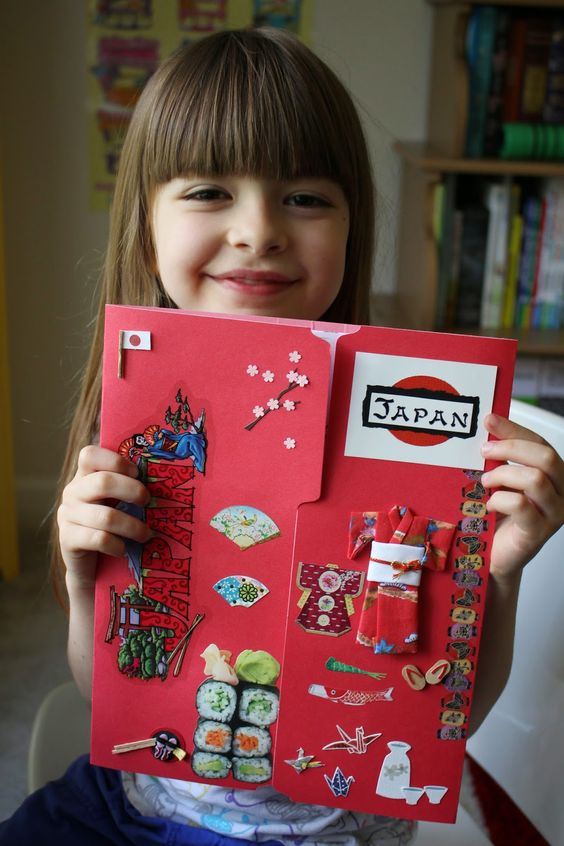 Spark and All - FIAR: A Pair of Red Clogs - Japan Lapbook  Go to: http://homeschoolingmom2mags.blogspot.com/2014/09/a-pair-of-red-clogs.html: