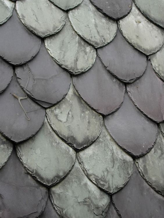 North wales slate roof tiles slate roof pinterest for Roof tile patterns