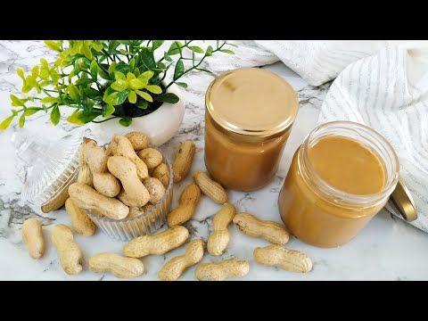زبدة الكاكوية أو الفول السوداني صحية و لذيذة و فكرة لمشروع بيتي مربح Youtube Peanut Butter Food Peanut