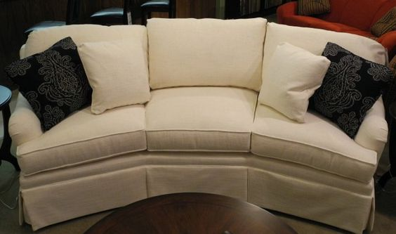 White Couch With Color Throw Pillows Lets You Change A Room Quickly U0026  Easily. Find It At Ossian Furniture! | Couches | Pinterest | White Couches,  ...