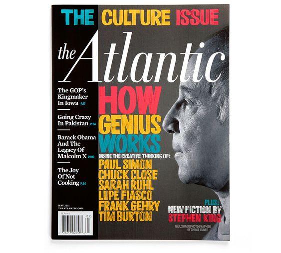 The Atlantic – The Culture Issue | Erik Marinovich