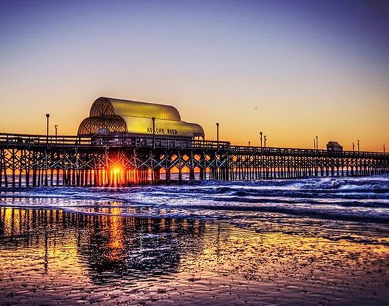 Apache pier in myrtle beach south carolina was built in for North myrtle beach fishing pier