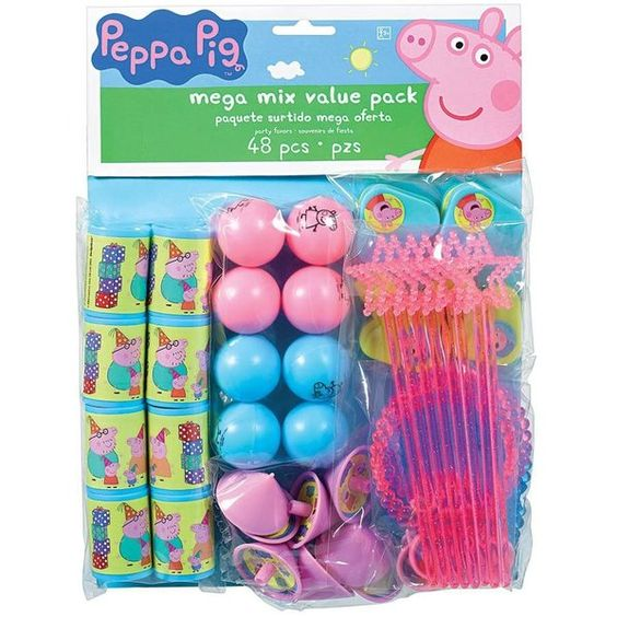 Check out Peppa Pig Mega Value Pack - Discount Decorations and Supplies from…