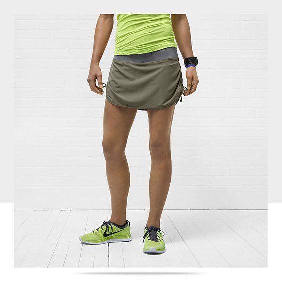 nike rival stretch woven womens running skirt run