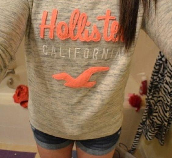 Perfect little Hollister sweater. :)