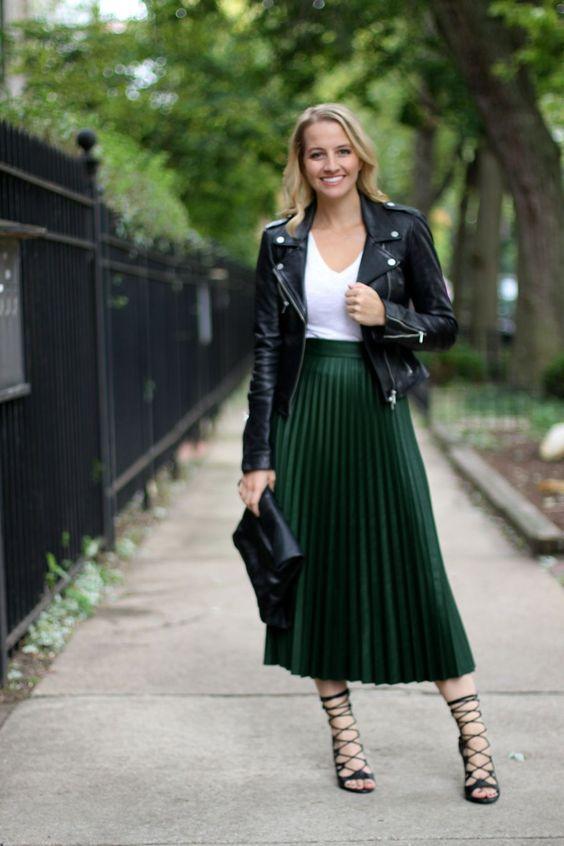 Green Midi Skirt - House + Hanger