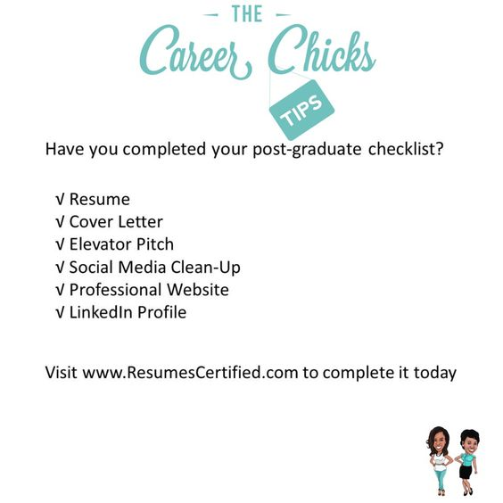 Have you completed your post-graduate checklist If not itu0027s time - post graduate resume