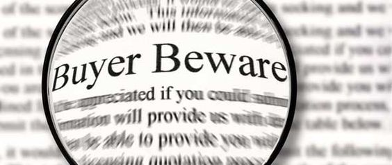 Springfield Real Estate Agents Advice on Buyer Beware Signs!