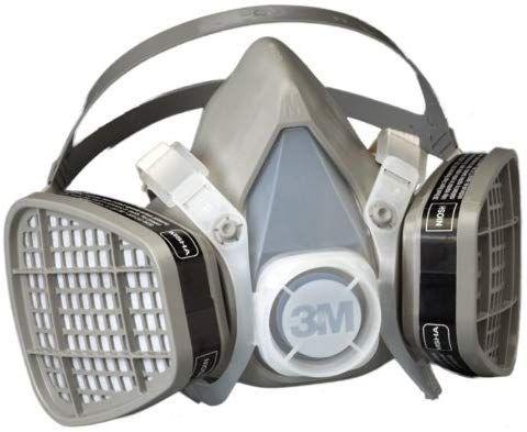 3m Half Facepiece Disposable Respirator Assembly 5201 21571 Organic Vapor Respiratory Protection Medium Half Mask Personal Protective Equipment Air Purifier