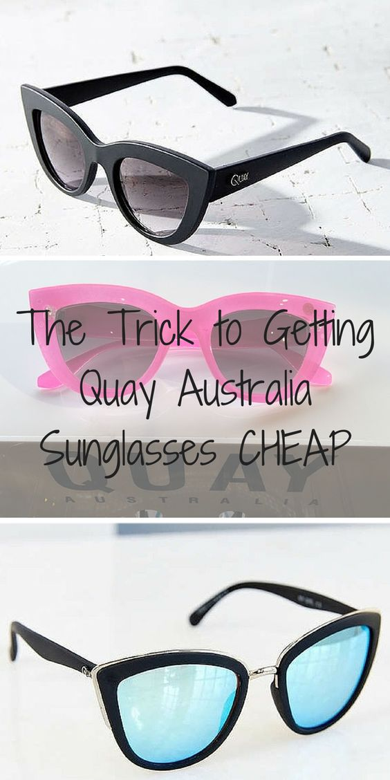 Quay Australia Sale Happening Now! Shop mirrored sunglasses, statement frames, and cat eye sunnies at up to 80% off. Click the image to download the free app now and take advantage of daily deals!