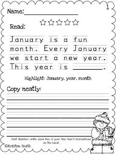 handwriting worksheets student and new year 39 s on pinterest. Black Bedroom Furniture Sets. Home Design Ideas