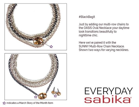 Mix N Match Suggestion for you featuring one of our MARCH 30% OFF Stories of the Month - OASIS :)