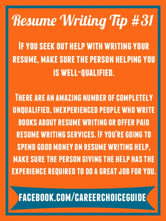how to make a quick resume for a job