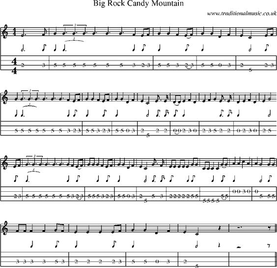 Mandolin mandolin tabs rock : Candy, Sheet music and Rocks on Pinterest