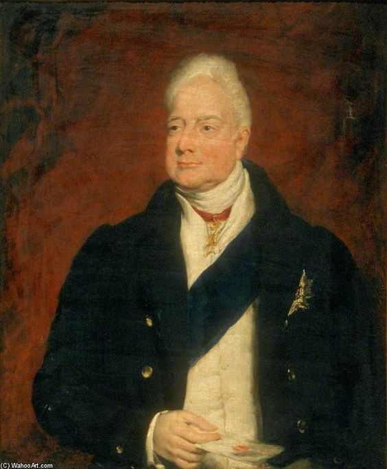 Rei william iv por William Beechey (1753-1839, United Kingdom)