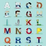 Video Game Character Alphabet