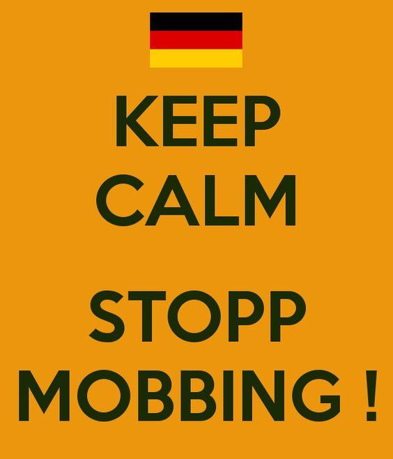 KEEP CALM  STOPP MOBBING !   @drfior