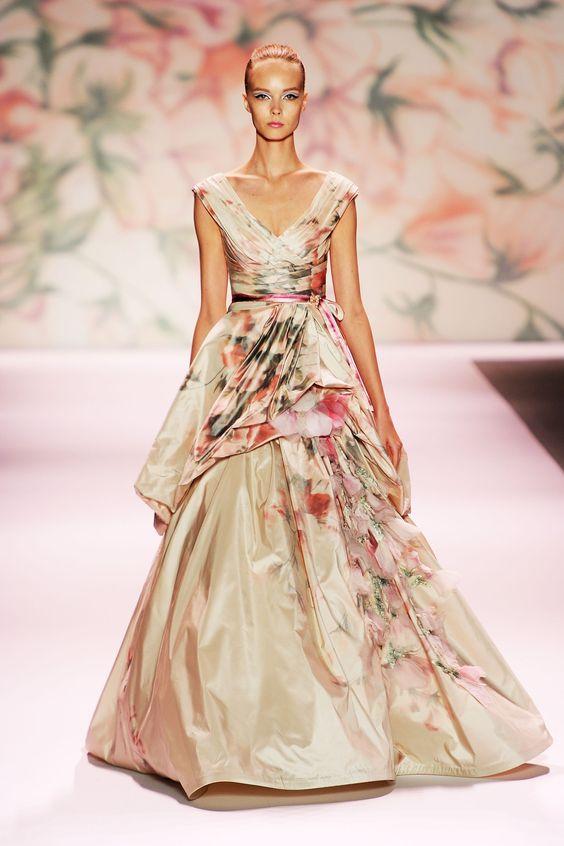 Spring 2011 New York Fashion Week: Monique Lhuillier