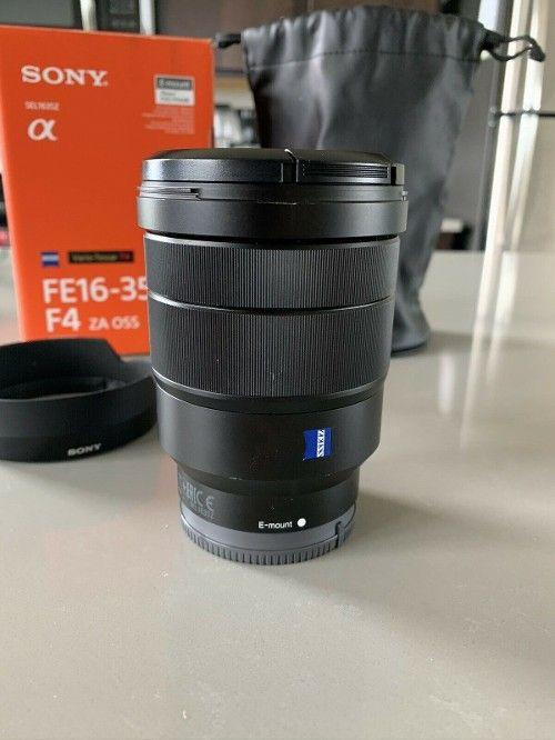 Sale 750 0 Sony Vario Tessar T Fe 16 35mm F 4 Lens Filtersfordigitalcameras Bestbudgetlenses Bestcameralens Best Budget Camera Lens Sony