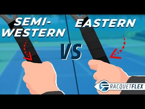 Eastern Vs Semi Western Forehand Best Tennis Grip Modern Atp Forehand Youtube Tennis Grips Grip Westerns