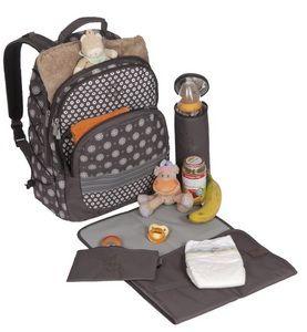 Lassig Backpack Diaper Bag
