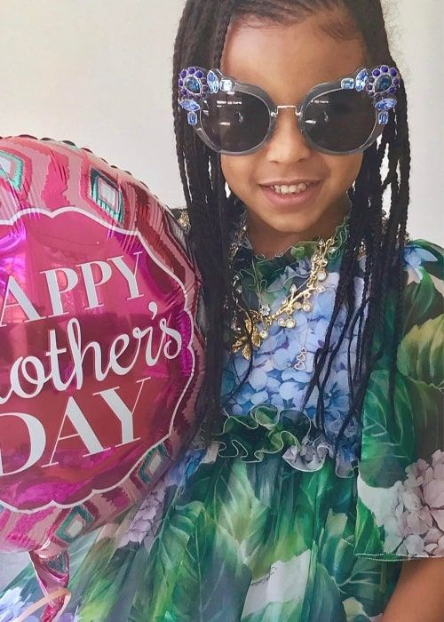 blue ivy carter height weight age