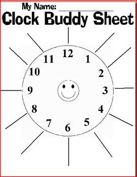 Looking for a creative way to partner your students up?  Give each of your students a clock buddy sheet.  For each time slot, have students find a partner