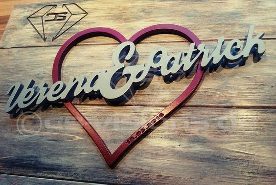 Graffiti Schild mit Text   Namen aus Holz individuelle Lackierung