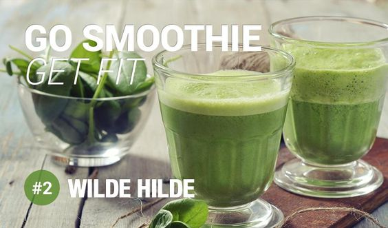 Go Smoothie Get Fit - #2 Wilde Hilde