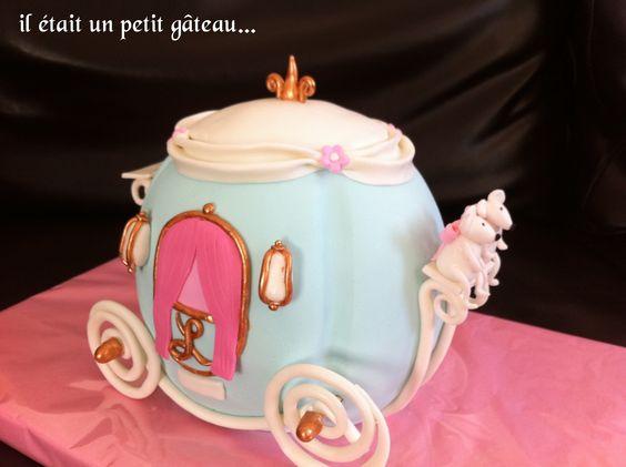 Gâteau carosse cendrillon cinderella cake
