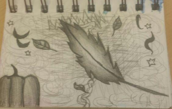 Mini sketchbook #9 in pencil and pen