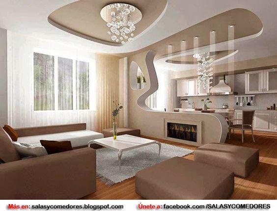 Decorating Ideas > DECORAR SALAS Y COMEDORES CON TECHOS FALSOS  Apartamento  ~ 143650_Garageband Decorating Ideas