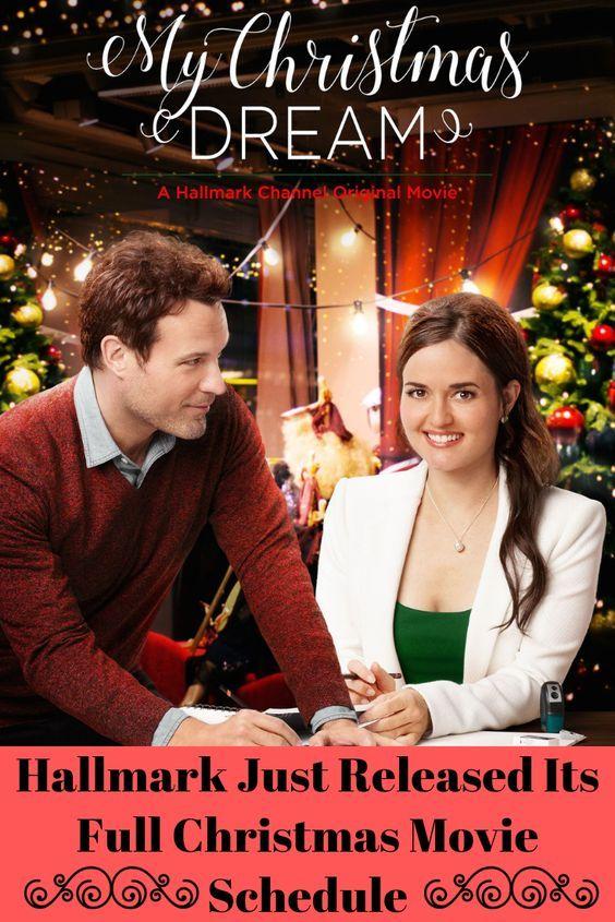 Hallmark Just Released Its Full Christmas Movie Schedule Movie Schedule Christmas Movies Ali Liebert