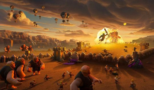Clash Of Clans Grossed 727 Million In 2019 A 27 Increase Over 2018 Clash Royale Wallpaper Clash Of Clans Hack Clash Of Clans Clash of clans wallpaper hd 1080p