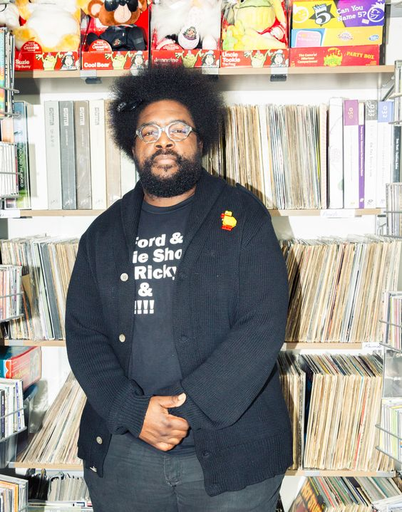 Crib Tours: Questlove of the Roots | UpscaleHype