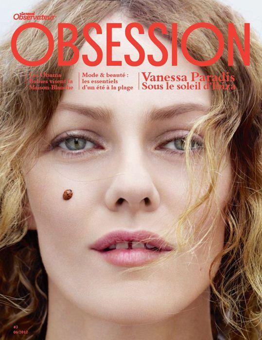 Vanessa Paradis for Obsession magazine